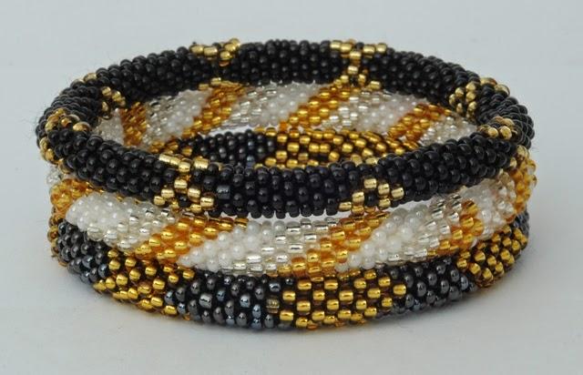 assorted black golden