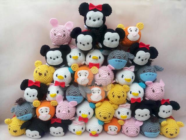 Amigurumi Disney Characters : Lenns Craft ? Handmade doll? Amigurumi ? : Tsum tsum ...