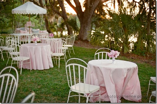 Custom Scalloped Umbrella by Boutique Tents | Photo by Adrienne Page