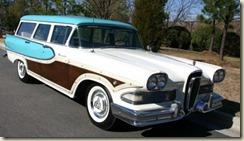 Edsel Bermuda station wagons