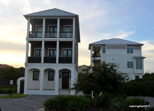 Houses at Rosemary Beach