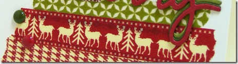 LeAnne Pugliese WeeInklings Washi Merry Christmas Stampin Up