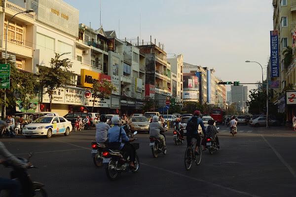 пномпень движение улицы трафик