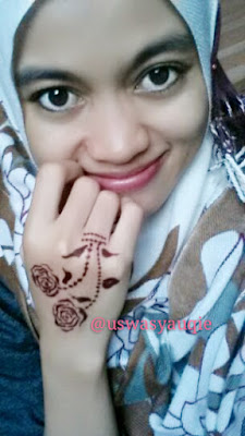 Gambar Henna Tangan Simple Untuk Anak Anak