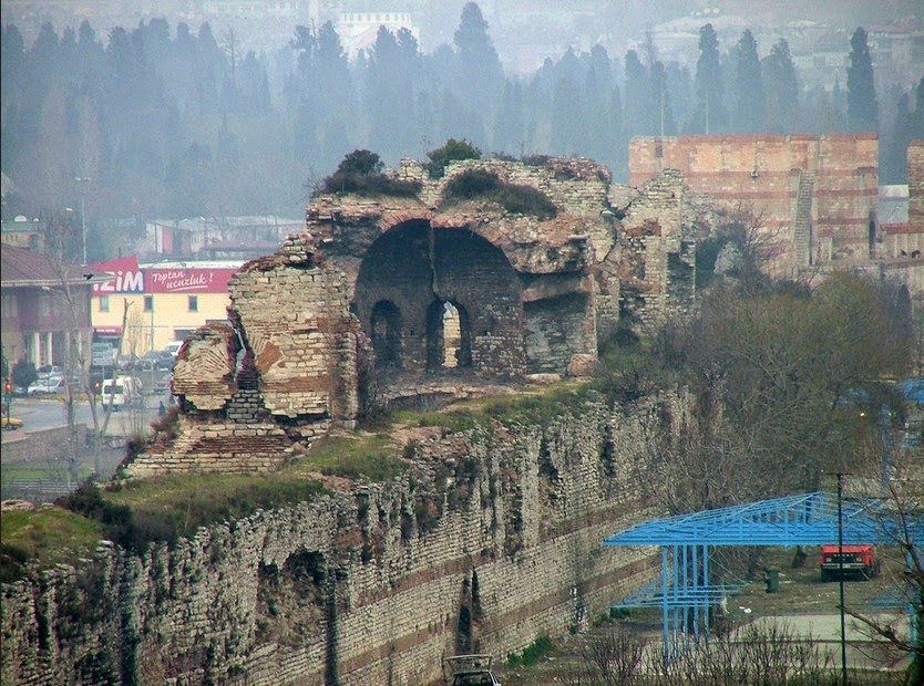 Byzantine monuments in Istanbul neglected