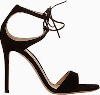 Gianvito Rossi Darcy Double Strap Lace Up Sandals