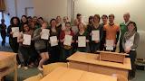 Students of GRM 312 und GRM 356 mit ihren ÖSD Diplomen