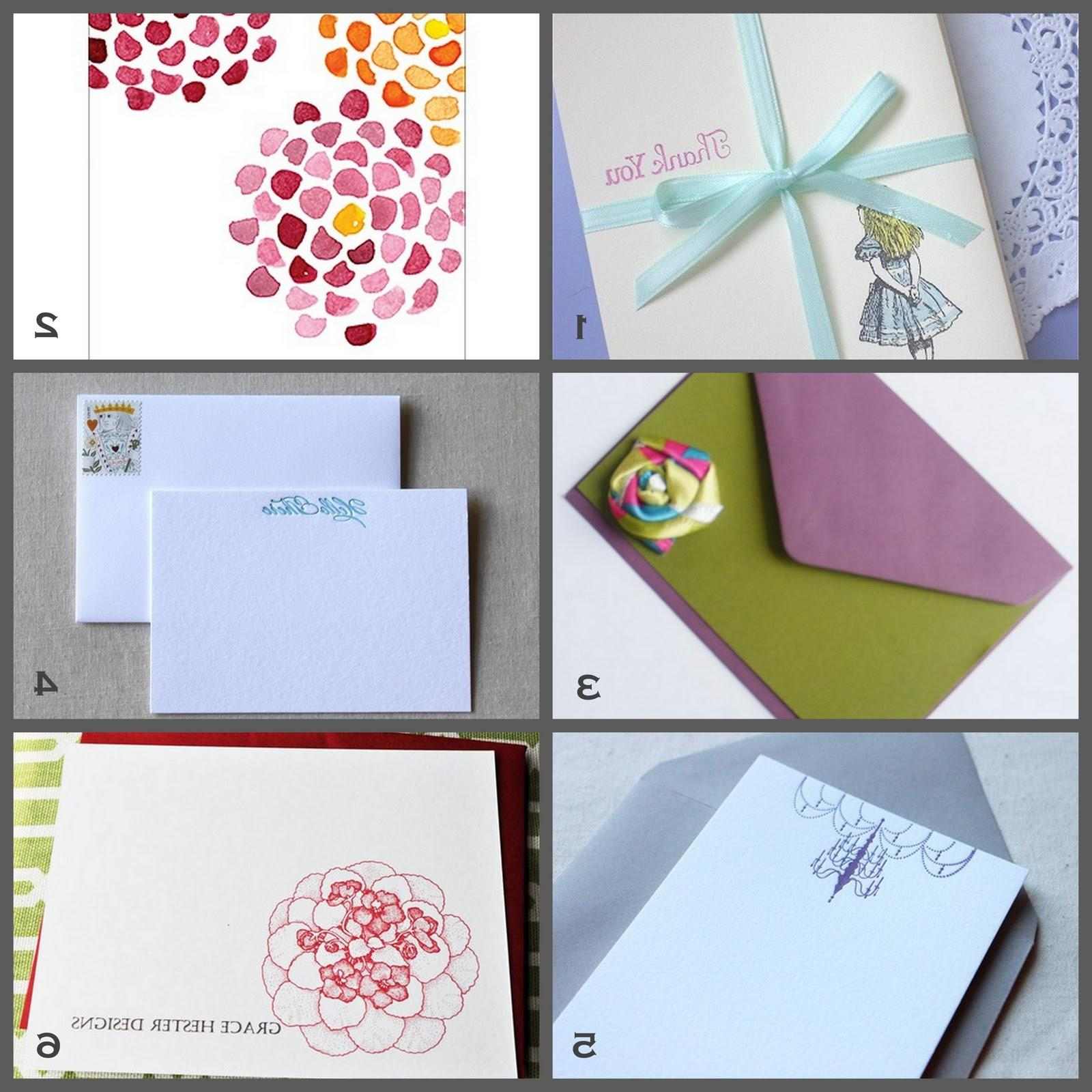 to purchase note cards.