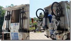 Camper - instalando o suporte das Bikes 1