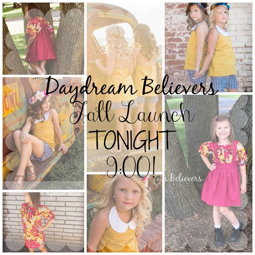 Daydream Believers Designs handcrafted, retro inspired, clothing for girls.