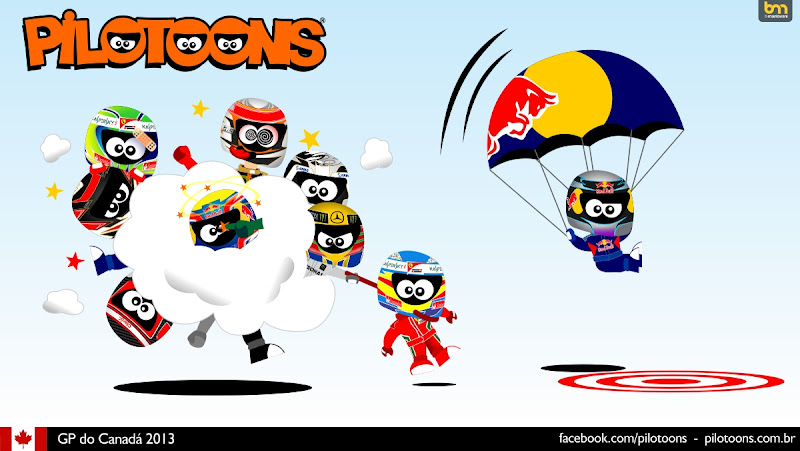 pilotoons по Гран-при Канады 2013