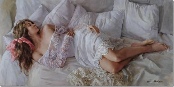 White lace - Anna-Marinova - ENKAUSTIKOS