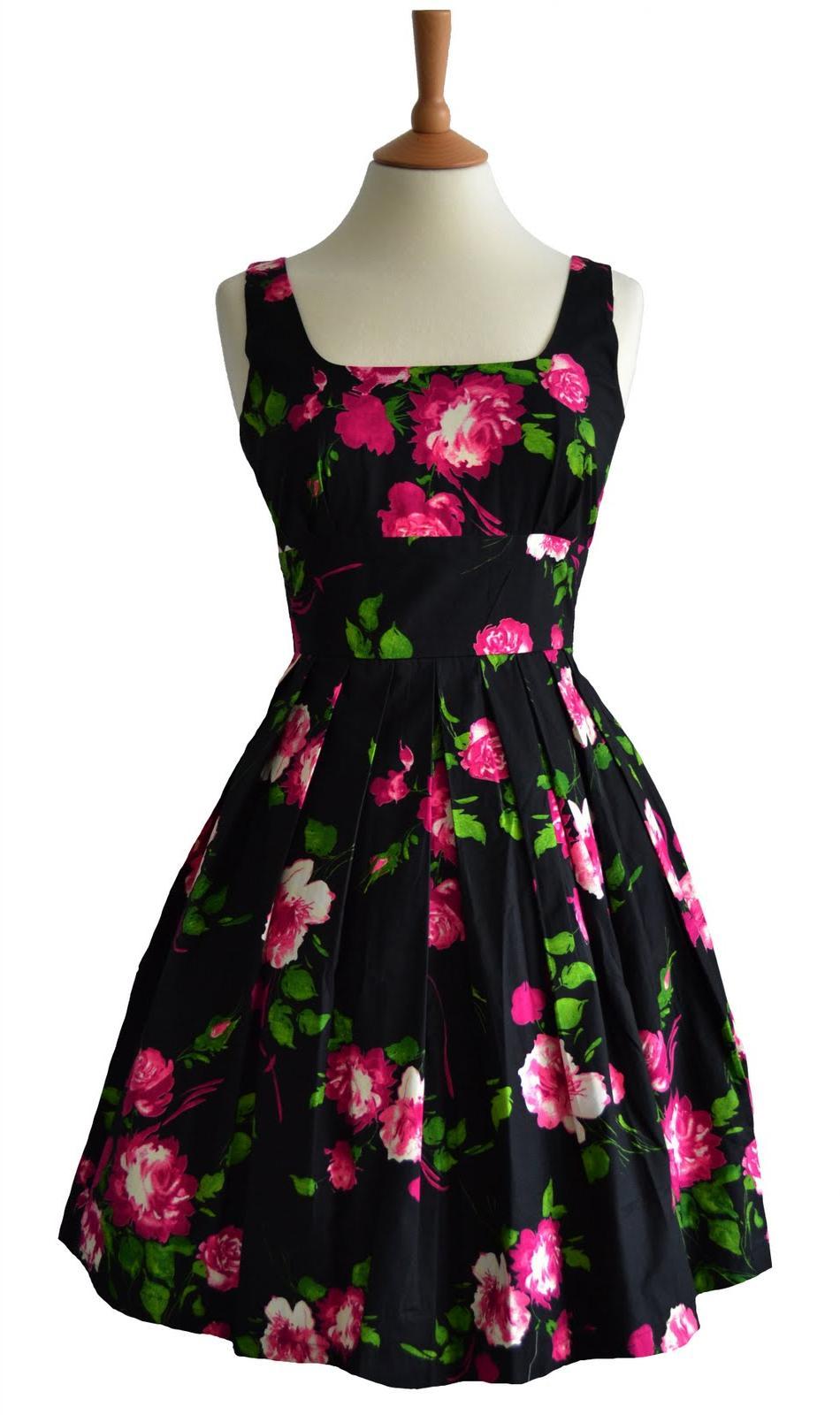 50s Vintage Style Dress - AVA