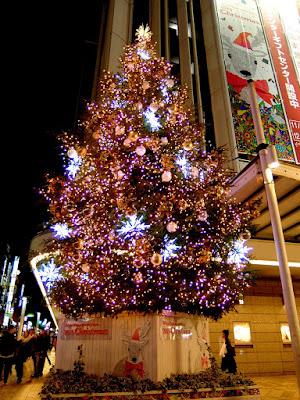 渋谷東急本店のクリスマスイルミネーション2015