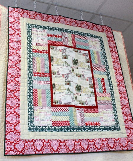 Framed Christmas quilt kit