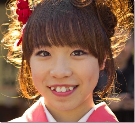yaeba moda de diente feos