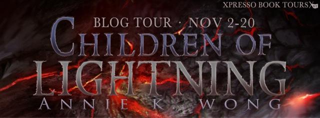 Blog Tour: Children of Lightning by Annie K. Wong