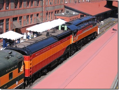 IMG_6037 Southern Pacific Daylight GS-4 4-8-4 #4449 at Union Station in Portland, Oregon on May 9, 2009
