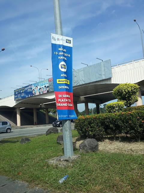 Tol Elektronik Di Plaza Tol Grand Saga Cheras Kajang