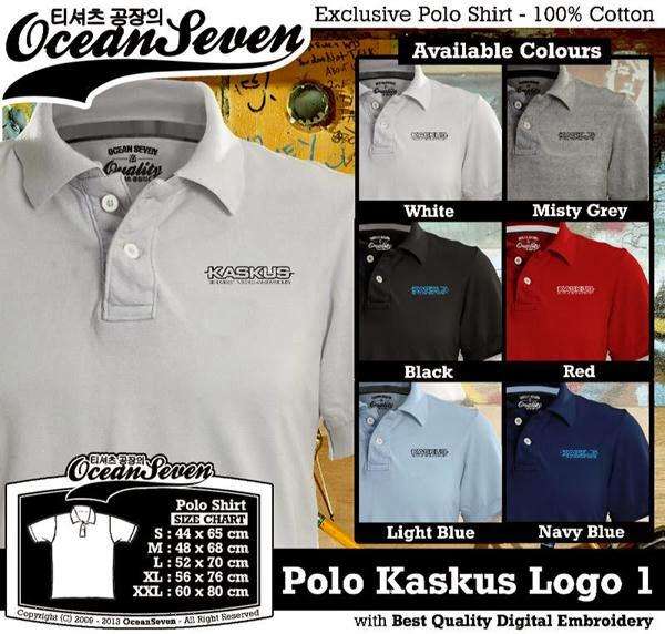 POLO Kaskus Logo 1 IT & Social Media distro ocean seven