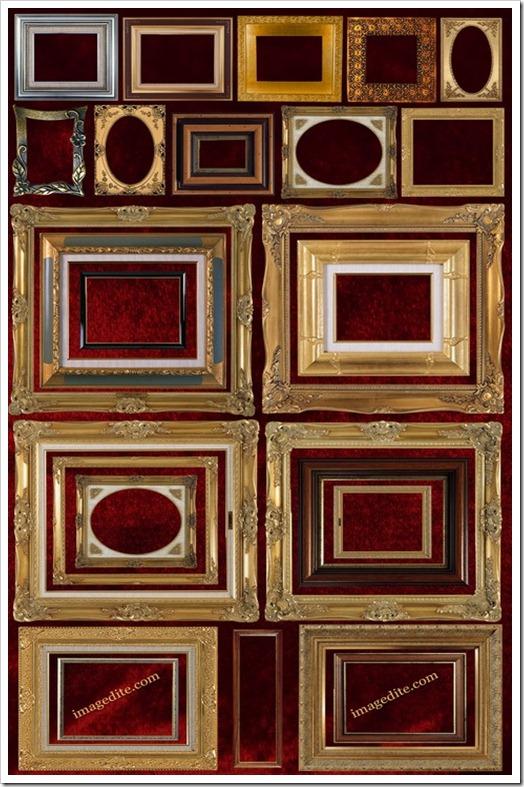 Fantastic painting frames