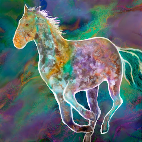"""The """"Painted Pony"""" piece from the """"2000"""" collection"""