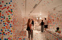 "Bronwen, ""Kusama's World of Dots (Yayoi Kusama)"", Gallery of Modern Art, Southbank"