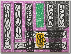 Jonathan-Lasker-The-Divergence-of-Art-and-Culture-oil-on-linen