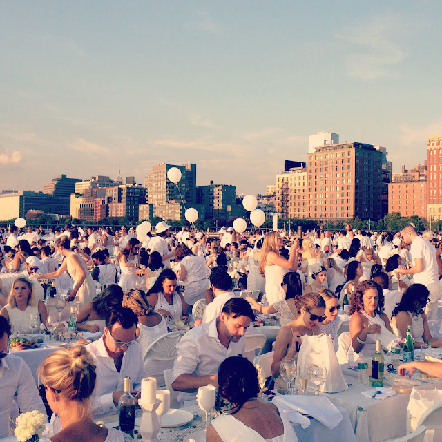 Dîner en Blanc New York 2015