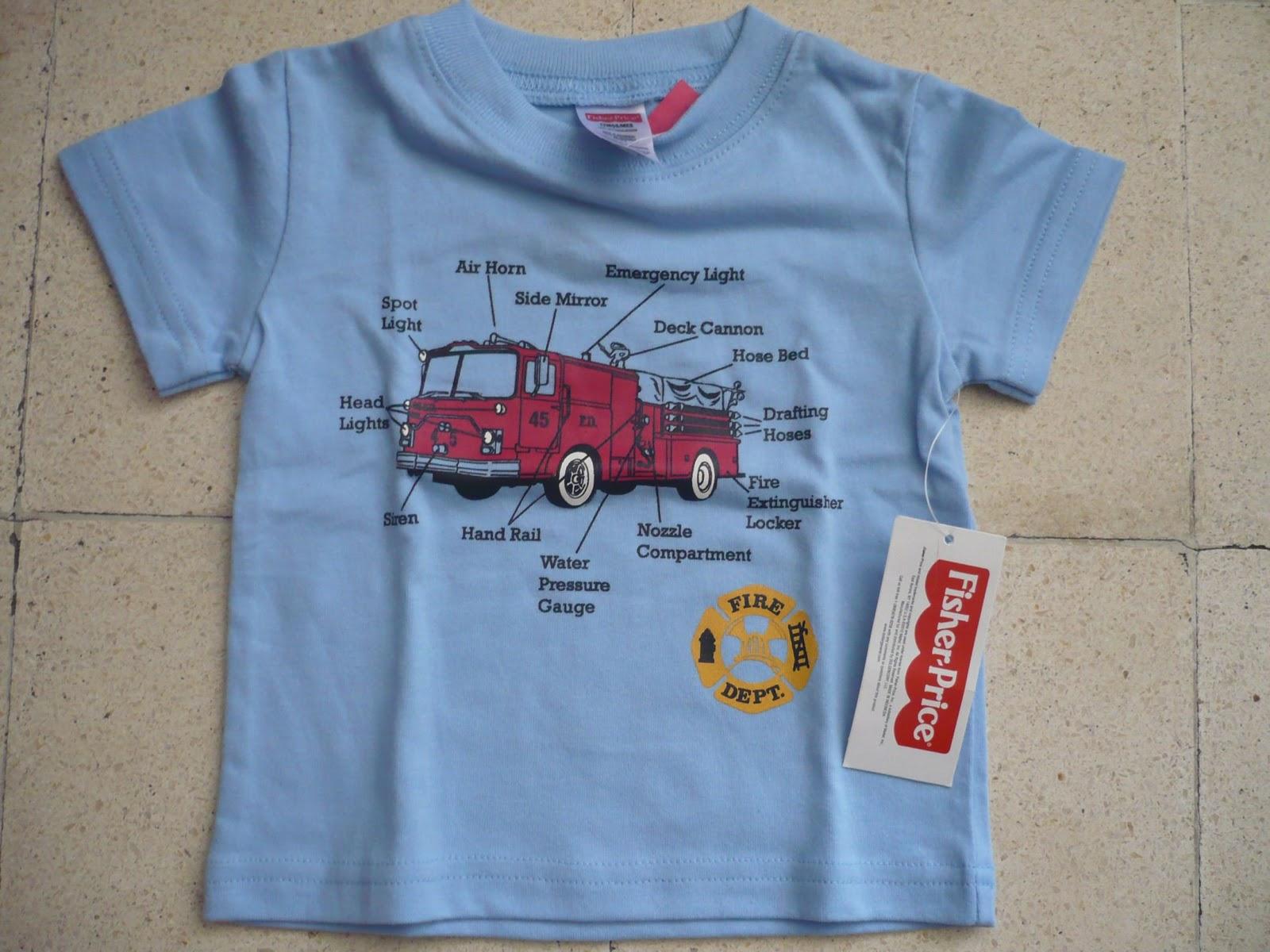 Koleksi Baju Kaos Anak Branded Asli