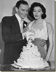 Ava Gardner  Frank Sinatra Wedding