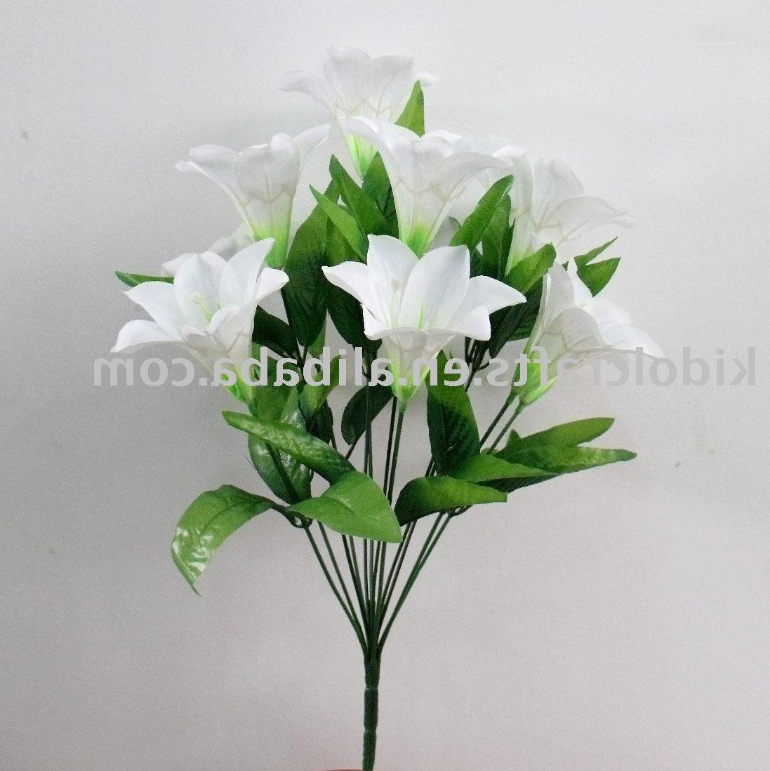 artificial lily flower,home
