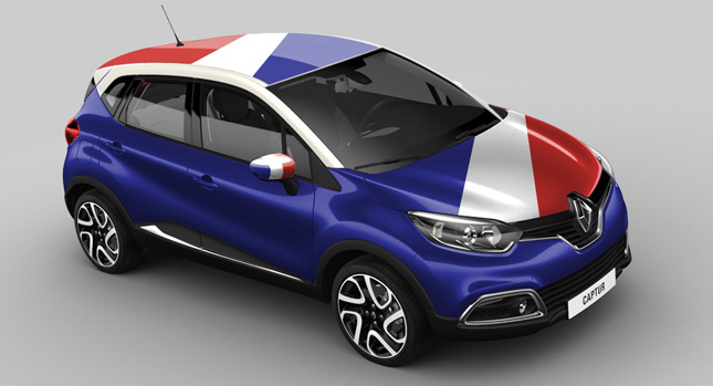 new renault captur crossover starts from 15 500 in france. Black Bedroom Furniture Sets. Home Design Ideas