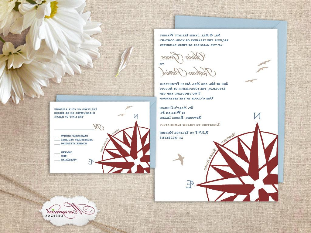 Compass Rose Nautical Wedding