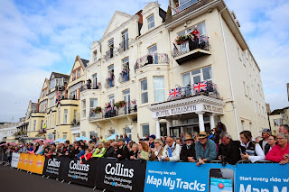 Sidmouth gears up for the start of the race