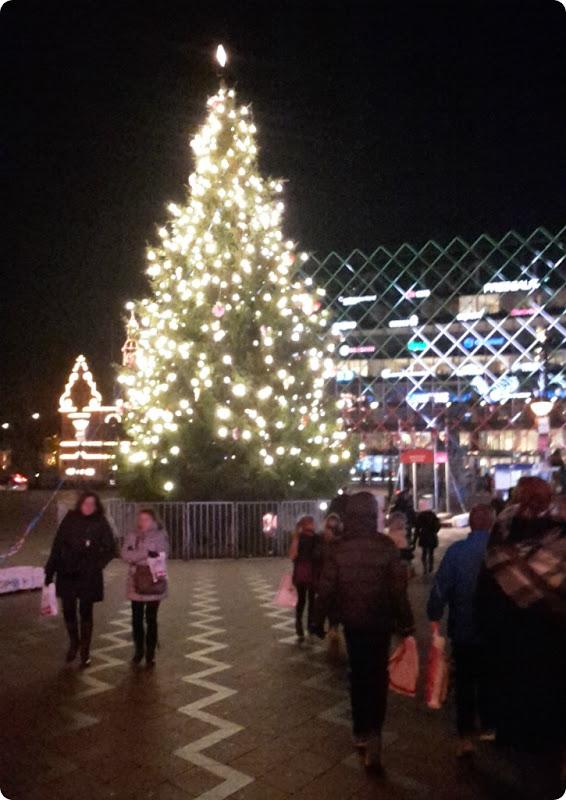 Juletræet ved Rådhuspladsen