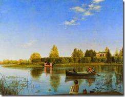 grigory-soroka-vista-de-ostrovski-desde-la-isla-bolshoi-pìntores-y-pinturas-juan-carlos-boveri