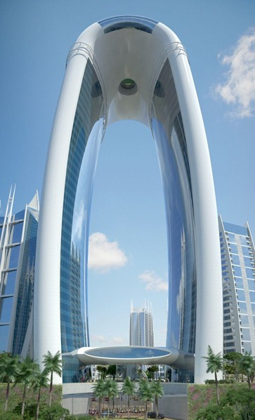 Arch Hotel, Jakarta, Indonesia - Tom Wright Rendering