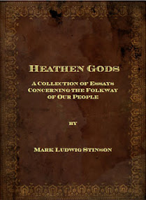 Cover of Mark Ludwig Stinson's Book Heathen Gods A Collection of Essays Ver 2