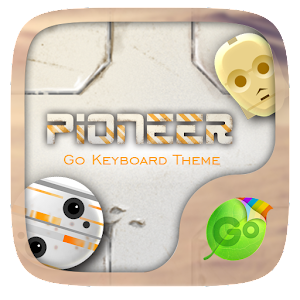 Pioneer GO Keyboard Theme