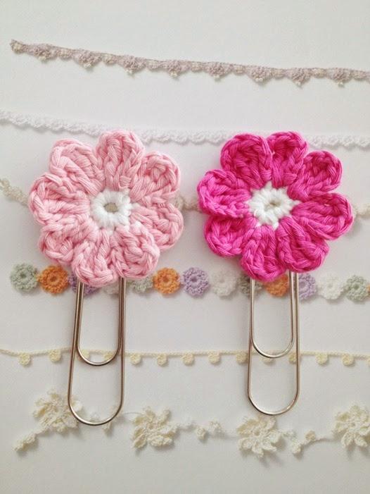 crochet paper clips