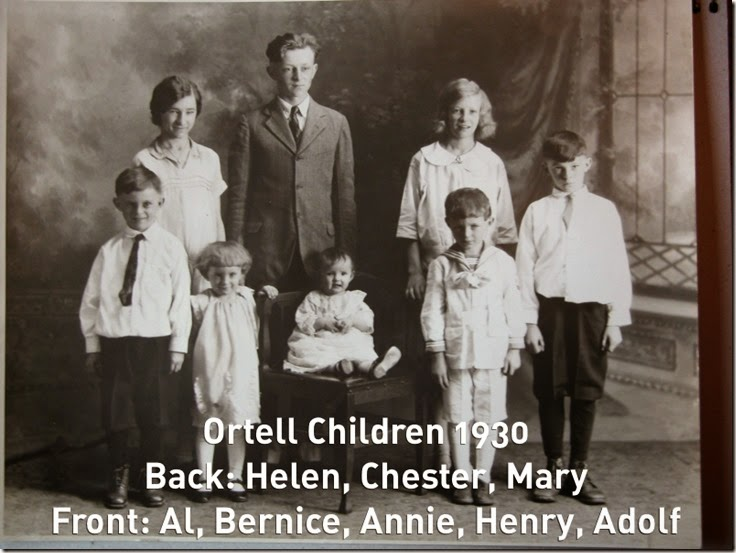 ORTELL Children_1930_Helen-Chester-Mary-Al-Bernice-Annie-Henry-Adolf