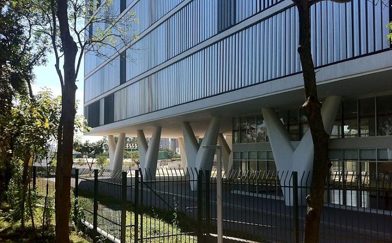 Pilastri a W utilizzati da Oscar Niemeyer