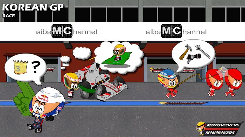 Los MiniDrivers по гонке на Гран-при Кореи 2012
