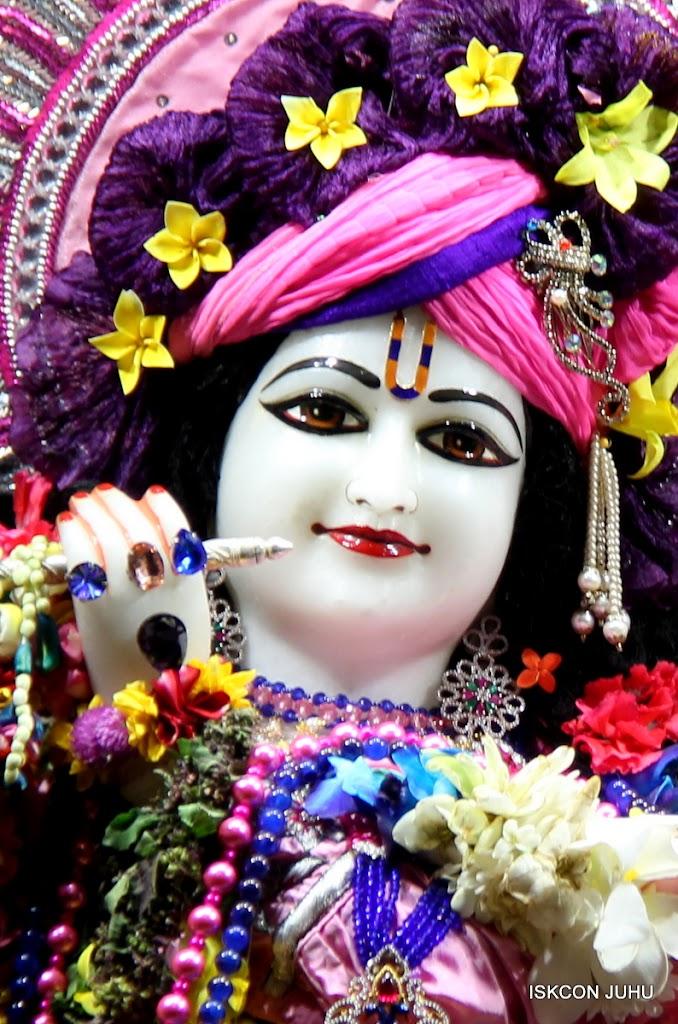 ISKCON Juhu Sringar Deity Darshan 20 Jan 16 (2)