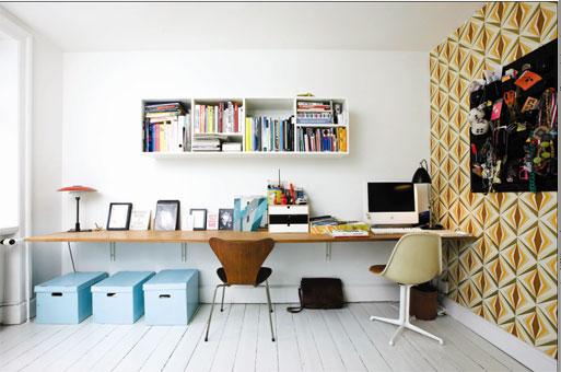 Hausliches Arbeitszimmer Gestalten Einrichtungsideen ~ Kreative