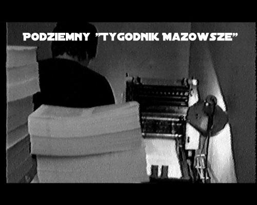 """Podziemny """"Tygodnik Mazowsze"""" (2006) PL.TVRip.XviD / Lektor PL"""