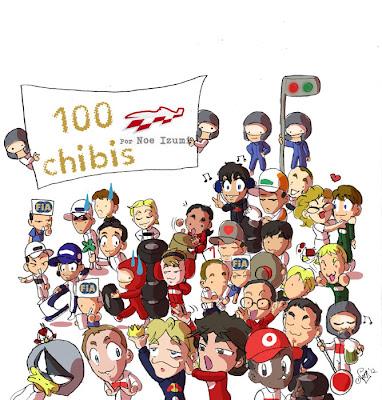 100 выпуск чиби-пилотов от Noe Izumi