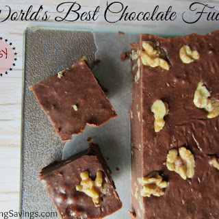 World's Best & Easiest Chocolate Fudge!