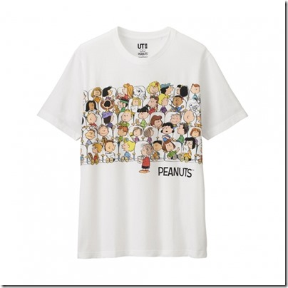 UNIQLO UT X Peanuts Movie Men Short Sleeve Graphic T-Shirt 15